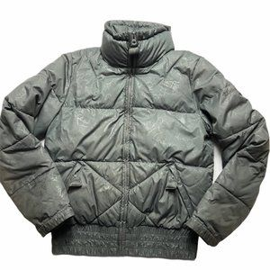 "Columbia ""wear it like a backpack"" puffer jacket"